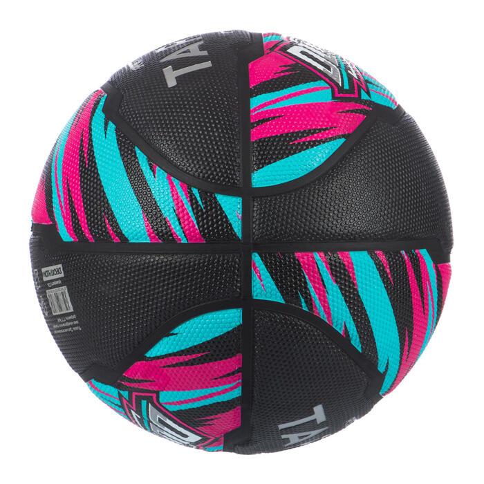 Basketball Resist R500 Größe 6 für Kinder und Damen schwarz/rosa