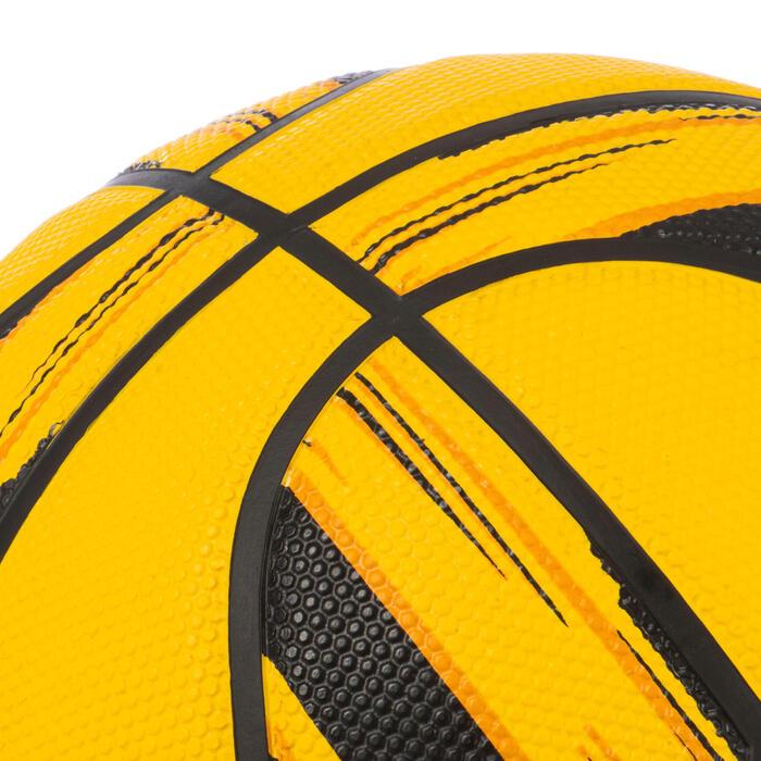 Basketball Resist R500 Größe 6 für Kinder und Damen gelb