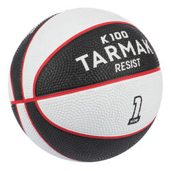 Mini B Kids' Size 1 Basketball Up to age 4.Black/White