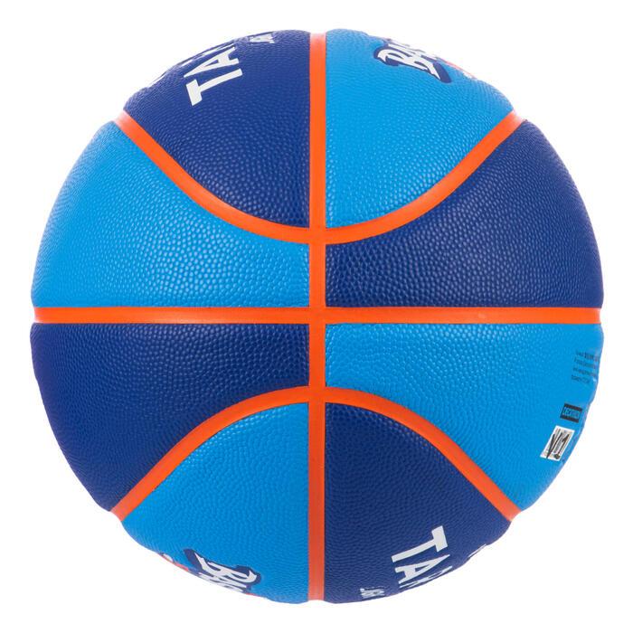 Basketball Wizzy Größe 5 für Kinder bis 10 Jahren blau
