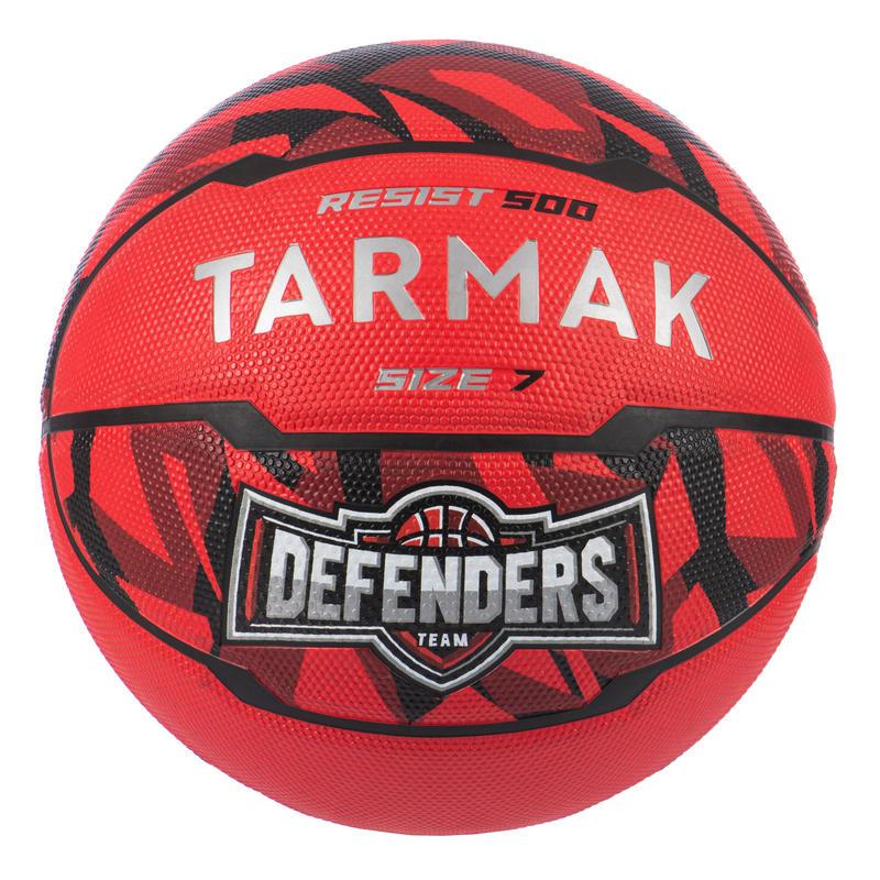 Balón de básquetbol hombre R500 T7 7 rojo, a partir de 13 años para iniciarse