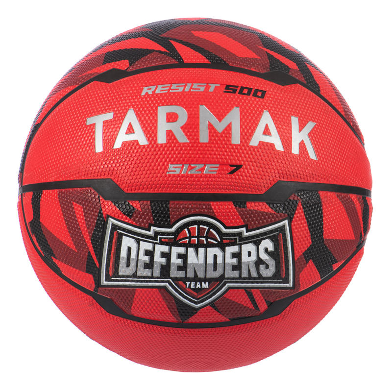 Men's Size 7 (Ages 13 and Up) Beginner Basketball - Red.