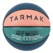 Size 6 Basketball BT500 - Pink/Green/Blue