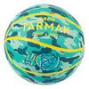 Bola de Basquetebol Criança Nível Principiante K500 Aniball Verde/Amarelo
