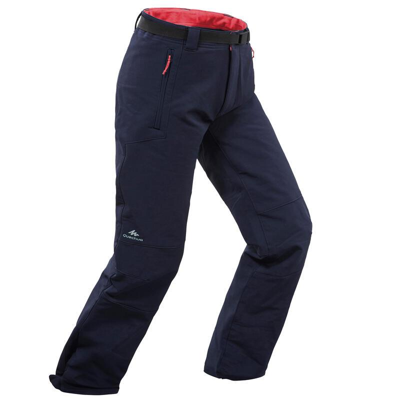 Warme en waterafstotende wandelbroek voor kinderen 7-15 jaar SH500 X-Warm