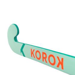Stick de hockey enfant débutant/adulte occasionnel bois/FB FH100 turquoise