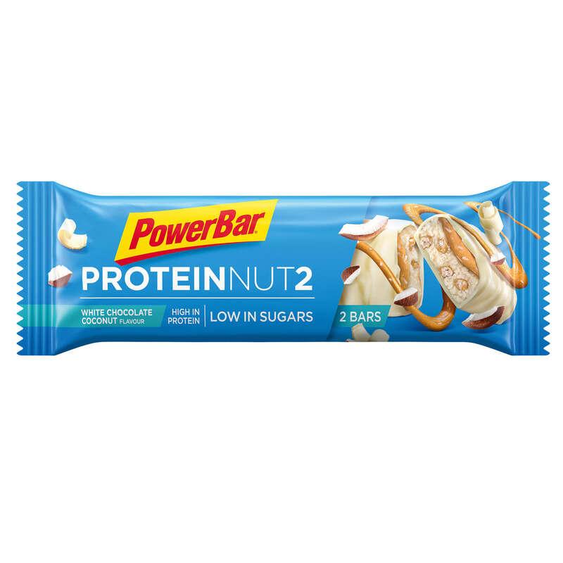 BATOANE, GELURI ȘI RECUPERARE Drumetie, Trekking - Baton Proteine Ciocolată 45g POWERBAR - Echipament drumetie