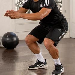 Herenshort voor cardiofitness training zwart
