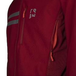 Men's Cycling Winter Jacket RC500 - Burgundy