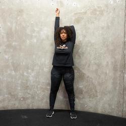 Legging Adidas Femme Noir avec Motif