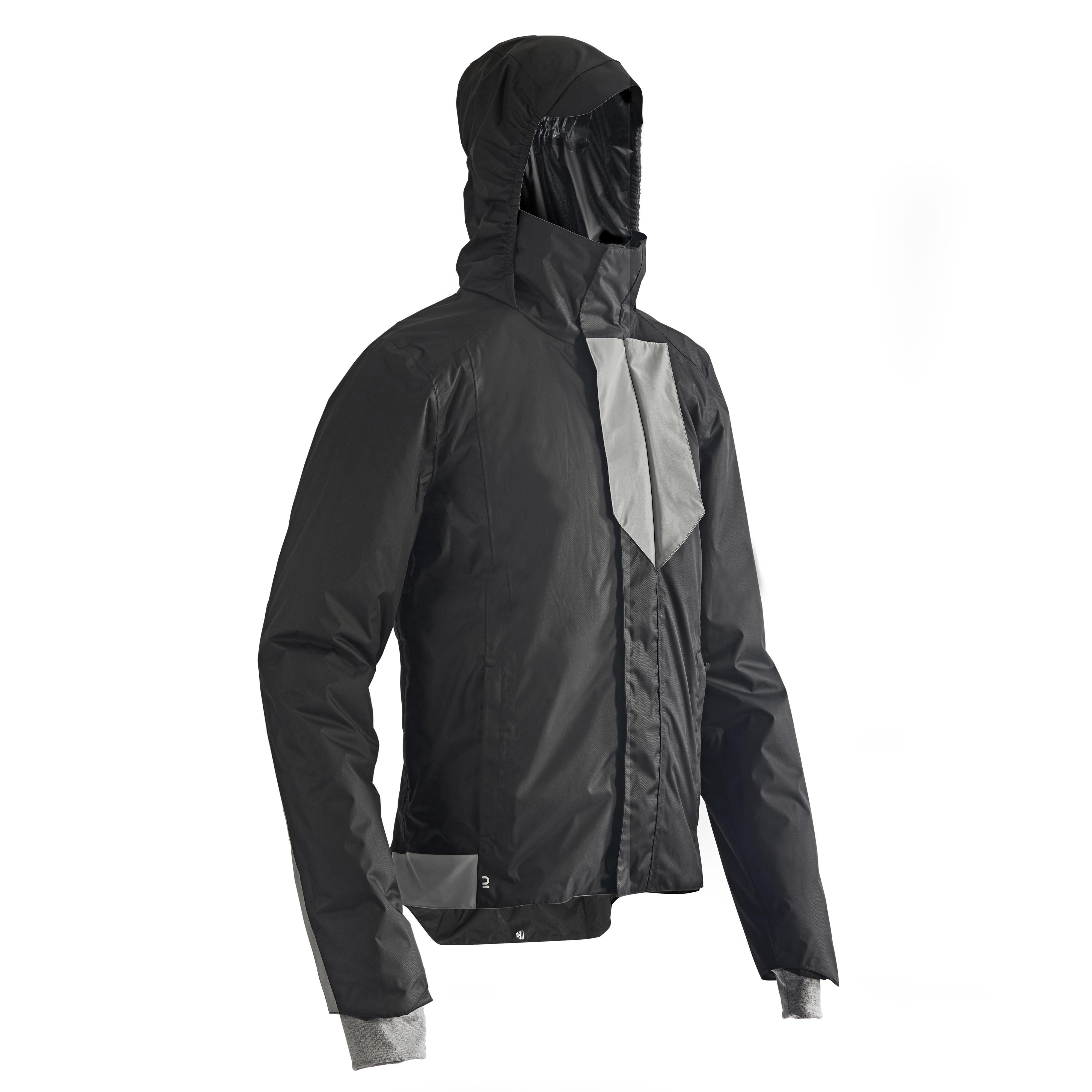 Jachetă ciclism ploaie 500 la Reducere poza