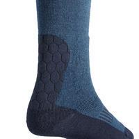 Kids' Warm Horse Riding Socks 500 Warm - Midnight Blue