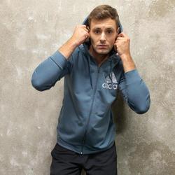 Vest met capuchon voor heren blauw