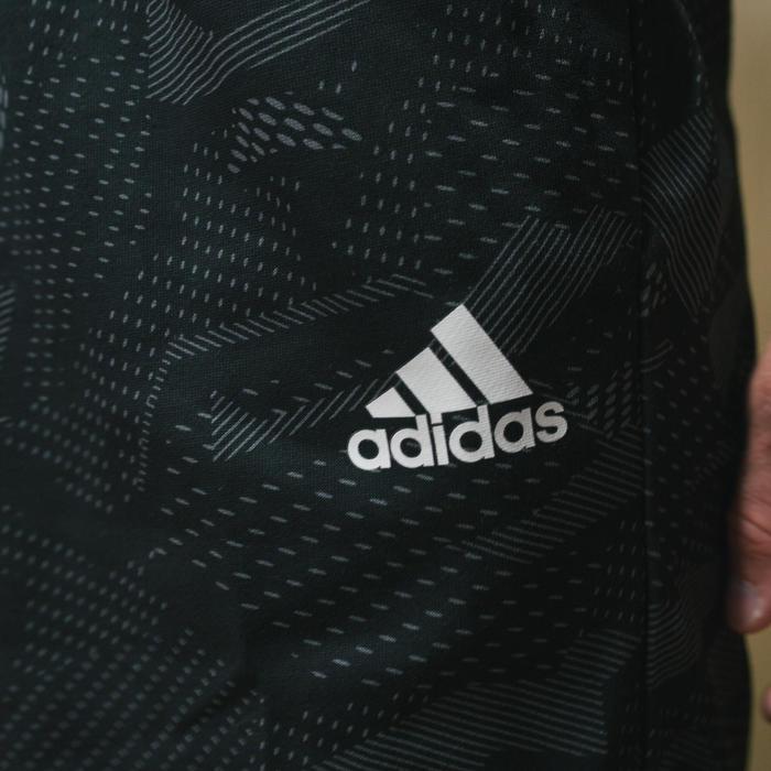 Short de sport Adidas Essentials imprimé noir homme