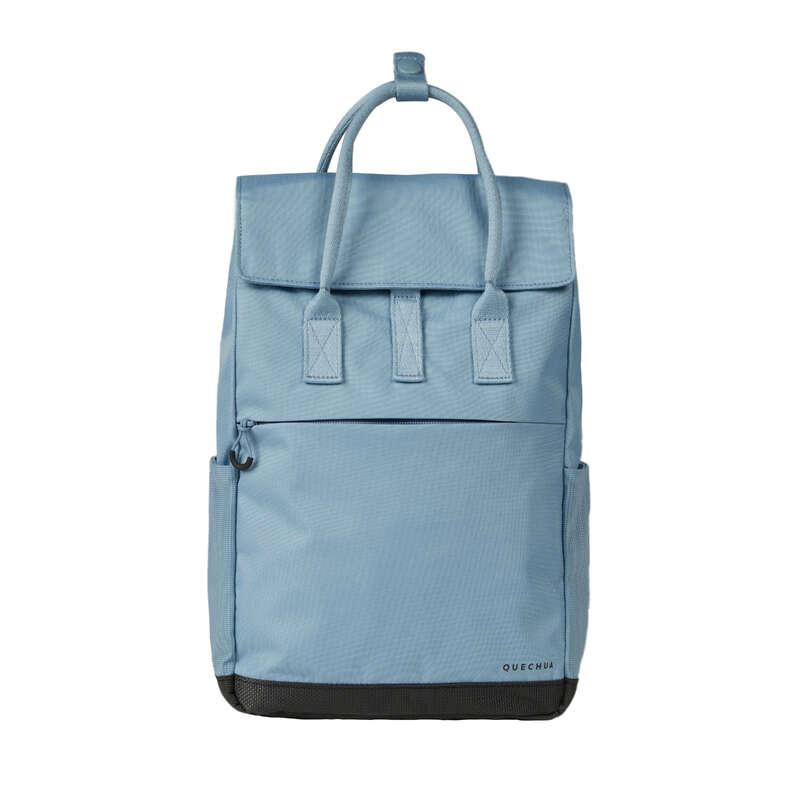 РЮКЗАКИ ДЛЯ ПРОГУЛОК 10-30 Л Рюкзаки и сумки - Рюкзак 10 л синий узорч. NH150 QUECHUA - Рюкзаки