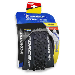 "PNEU VTT FORCE XC PERF 29 x 2.25"" Tubeless Ready MICHELIN"