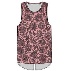 900 Women's Fitness Cardio Training Tank Top - Pink