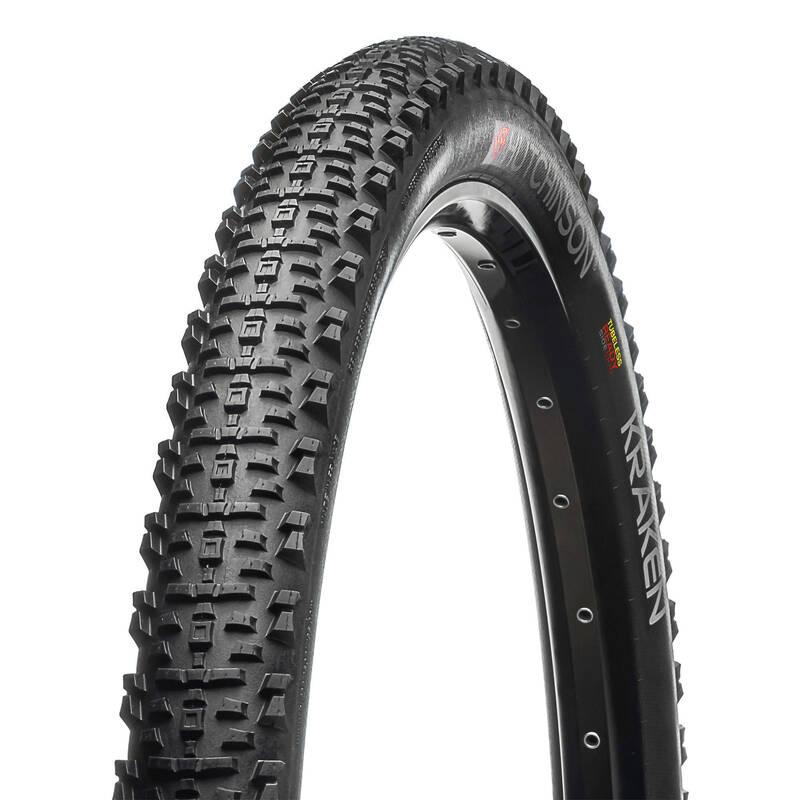 PLÁŠTĚ NA MTB SMÍŠENÝ TERÉN Cyklistika - PLÁŠŤ MTB KRAKEN 27.5×2.30 TLR HUTCHINSON - Náhradní díly a údržba kola