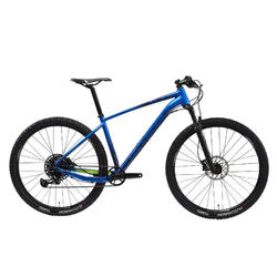 "Vélo VTT XC 500 29"" semi rigide EAGLE 1x12 bleu électrique"