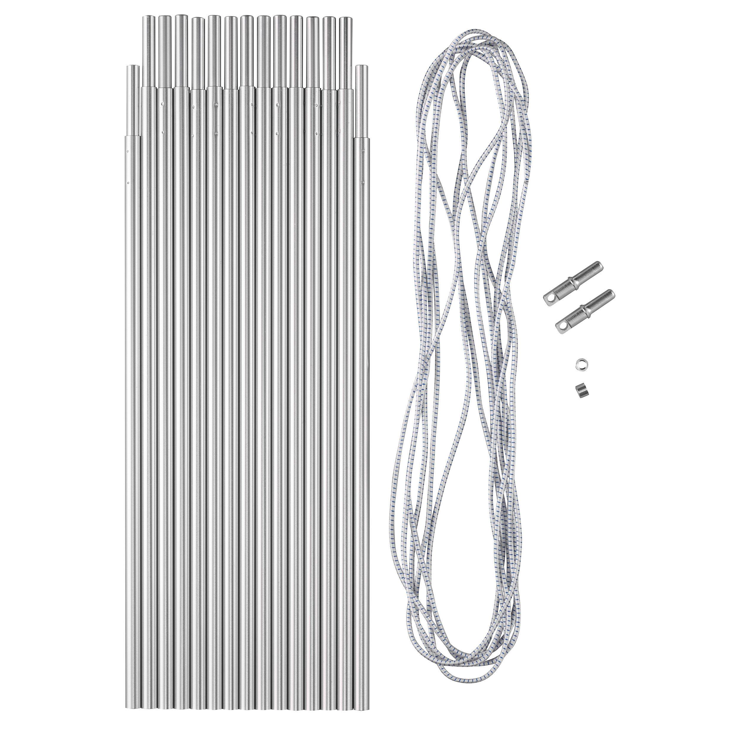 Set Bețe aluminiu 4,8 mØ32,5mm imagine