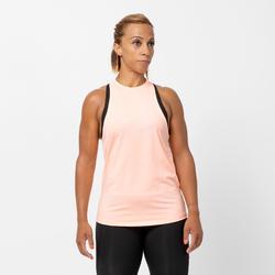Fitnesstop voor cardiotraining voor dames lichtroze