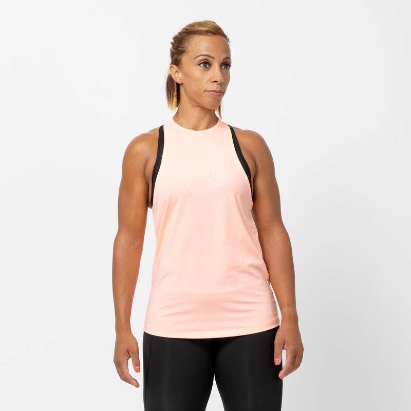 Îmbrăcăminte cardio fitness damă - Maiou Fitness Adidas Damă ADIDAS