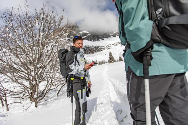 Wintersportarten-Kategorie-Foto