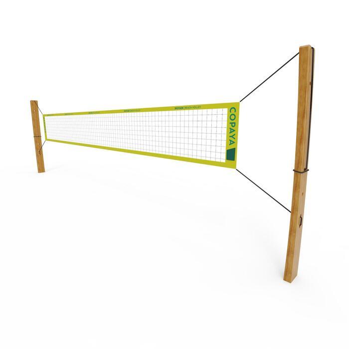 Rede de Voleibol de Praia com Dimensões Oficiais BVN900