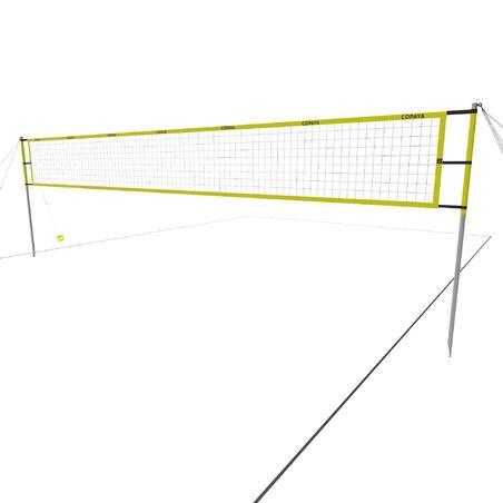 רשת כדורעף חופים BV900 - צהוב