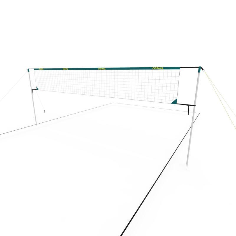 Set Fileu + structură Volei pe plajă BV500 (6m) Albastru
