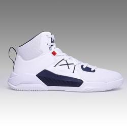成人男女通用款初學者籃球鞋Protect 120-白黑配色