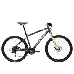 Mountainbike ST 520 27,5 Zoll grau/gelb