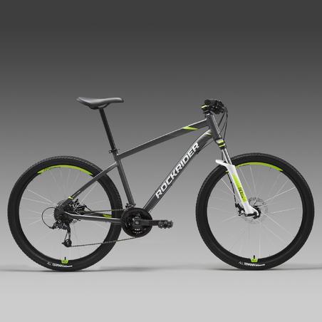 "27.5"" Mountain Bike ST 520 V2 - Grey/Yellow"