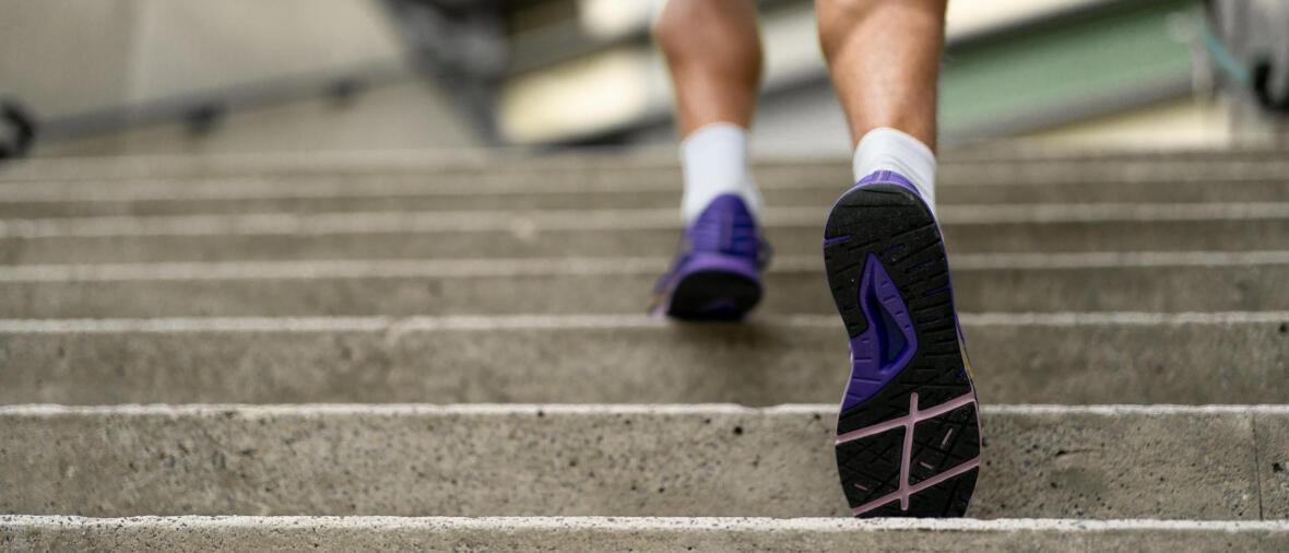 Exercising on your stairs