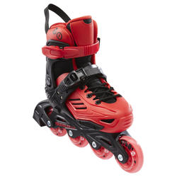 ROLLER ENFANT POWERSLIDE KHAAN LTD ROUGE