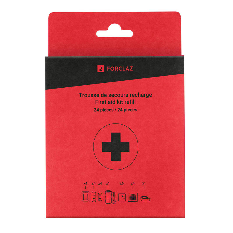 First Aid Kit Refill - 24 piece