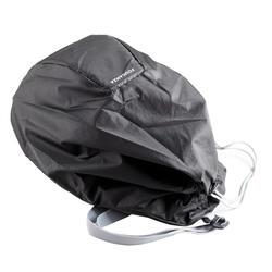 Opvouwbare rijhelm tas voor ruitersport zwart
