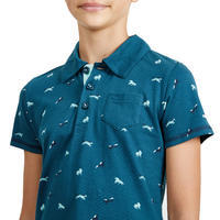 140 Horseback Riding Polo Shirt - Girls