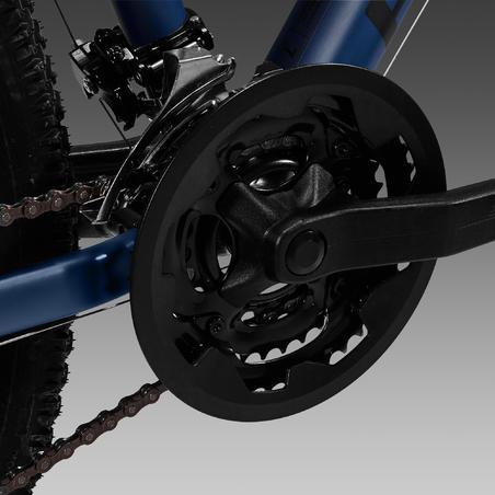 """Women's 27.5"""" Mountain Bike ST 520 - Navy Blue"""
