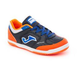 Chaussure de futsal pour enfants, Top Flex Sala Marine Orange