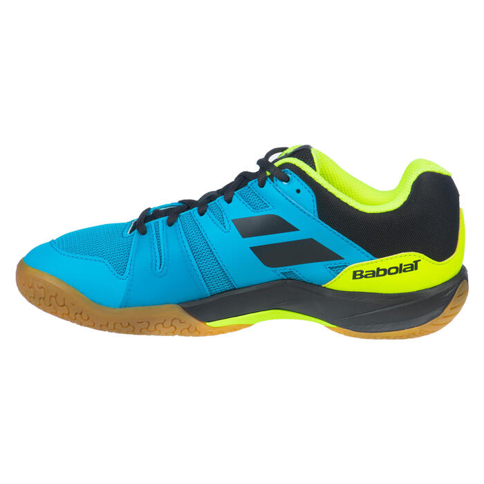 Chaussure de Badminton, Squash et sports indoor Shadow team Malibu Bleu