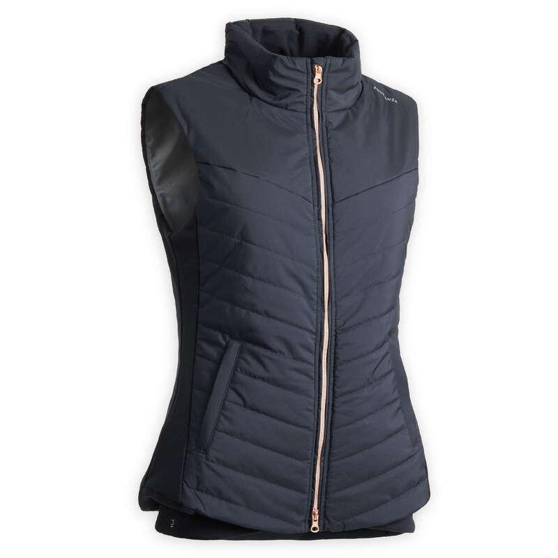 Női ruházat Lovaglás - Lovaglómellény 500-as FOUGANZA - Lovas ajánlatok