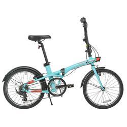 """20"""" Tilt 500 Lightblue Folding Bike"""