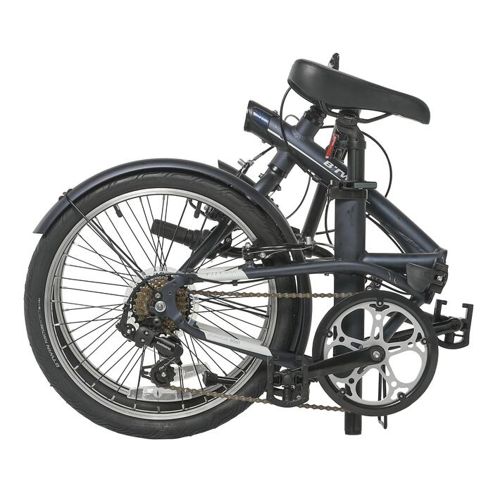 "Tilt 500 20"" Folding Bike - Dark Blue"