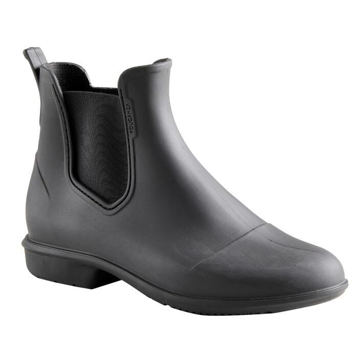 Boots équitation adulte 100 noir