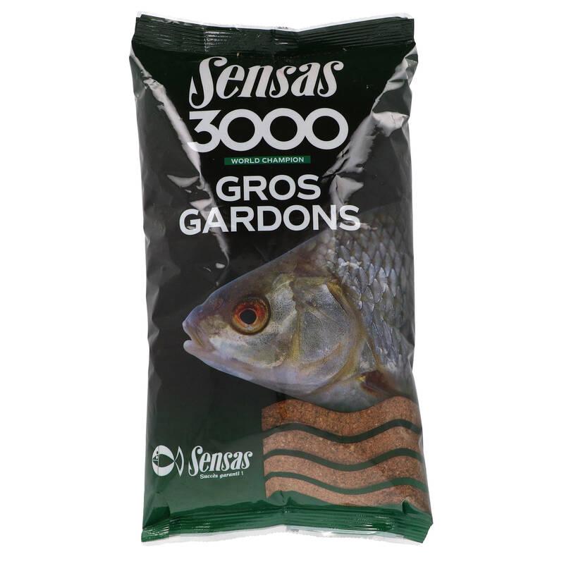 NÁVNADY, BOOSTERY, ČERVY, PŘÍSLUŠENSTVÍ NA ZAKRMENÍ Rybolov - 3000 VELKÁ PLOTICE 1 KG SENSAS - Návnady a nástrahy na ryby