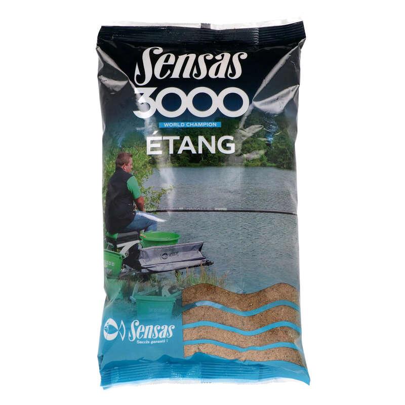PASTURE E ADDITIVI Pesca - Pastura 3000 stagno 1 kg SENSAS - Pesca