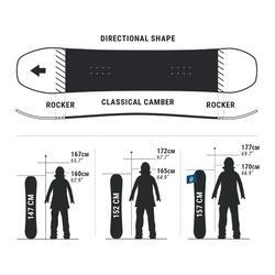 Snowboard voor piste/freeride dames Serenity 500