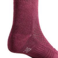 """Vaikiškos jojimo kojinės """"SKS 500"""", šviesiai rožinės,  slyvinės, su piešiniu"""