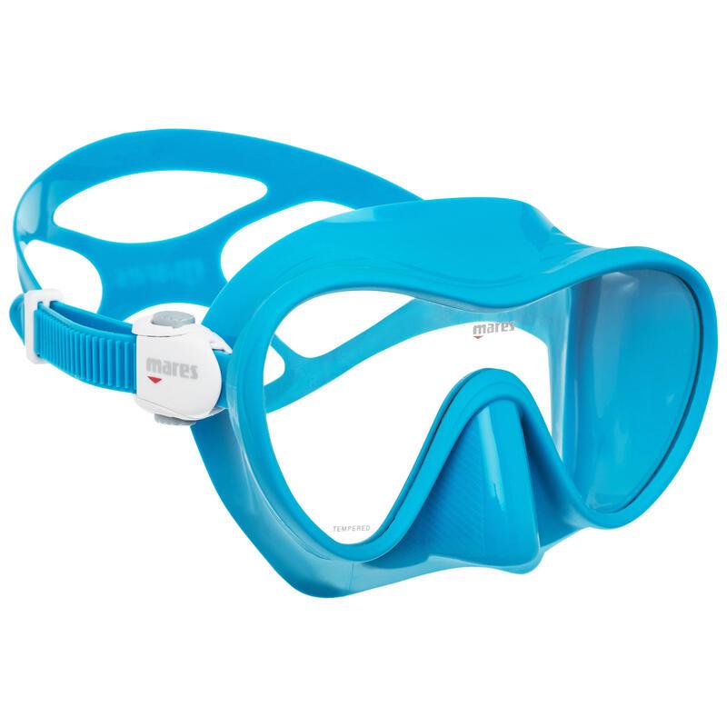 Masque de plongée Mares Tropical bleu